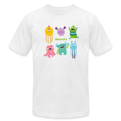 The monsters full colour - Men's  Jersey T-Shirt