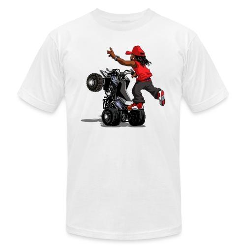yamaha banshee stunt - Unisex Jersey T-Shirt by Bella + Canvas