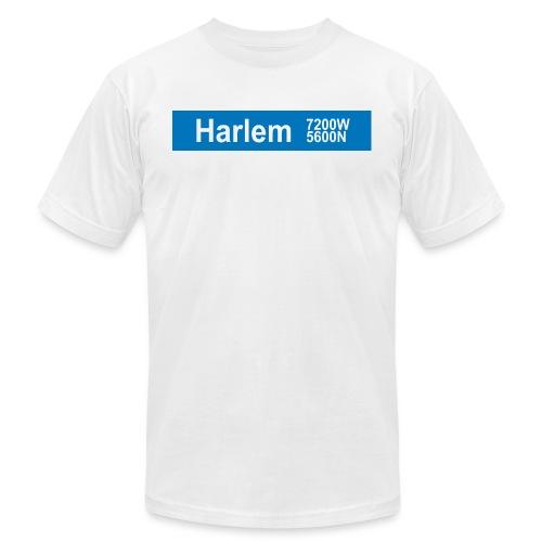 Harlem Blue Line - Men's Jersey T-Shirt