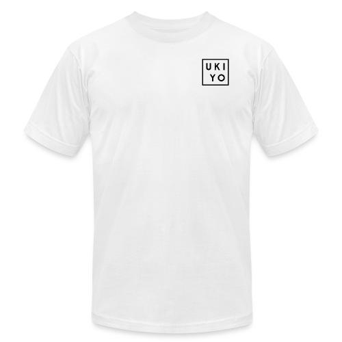 Ukiyo Logo Black - Unisex Jersey T-Shirt by Bella + Canvas