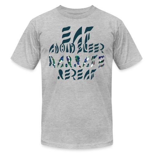 Eat Sleep Narrate Repeat - Men's Jersey T-Shirt