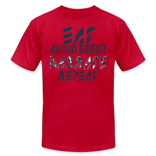 Eat Sleep Narrate Repeat - Men's Jersey T-Shirt