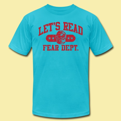 Athletic - Fear Dept. - RED - Men's Jersey T-Shirt