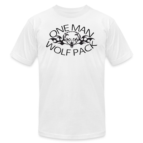 One Man Wolf Pack - Design - Unisex Jersey T-Shirt by Bella + Canvas