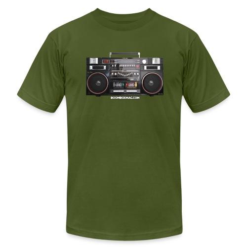 Helix HX 4700 Boombox Magazine T-Shirt - Unisex Jersey T-Shirt by Bella + Canvas