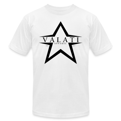 V-STAR Black - Unisex Jersey T-Shirt by Bella + Canvas