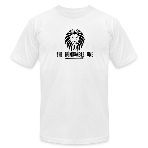 Lion: The Honorable One (Black) - Men's  Jersey T-Shirt