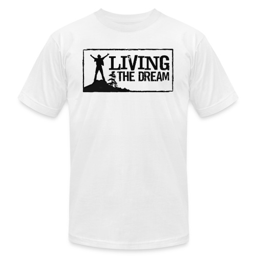 Women's Living the Dream Long-Sleeve T-Shirt - Unisex Jersey T-Shirt by Bella + Canvas