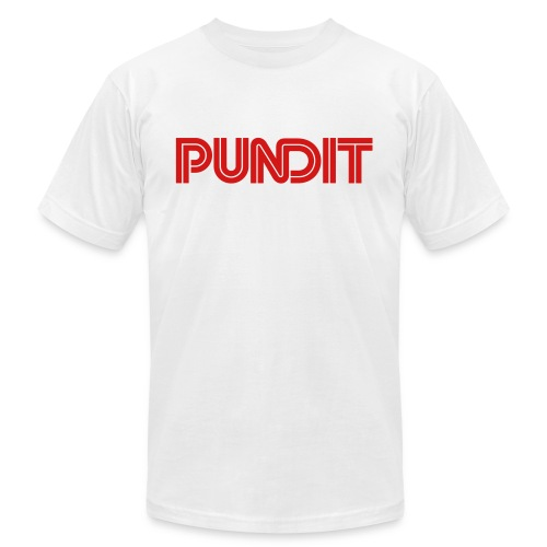 Pundit - Unisex Jersey T-Shirt by Bella + Canvas