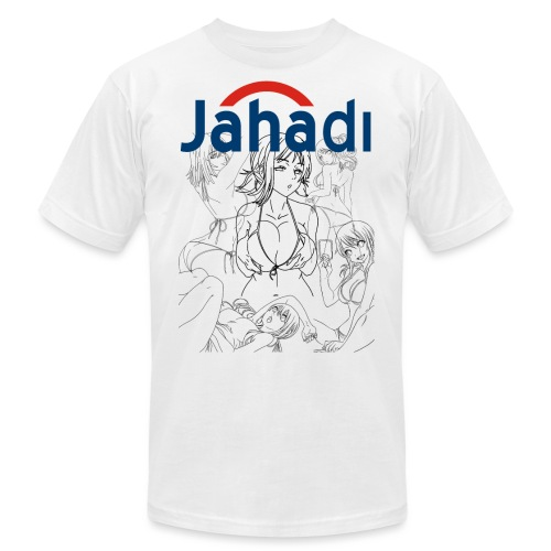 HADIBITCHES - Men's  Jersey T-Shirt