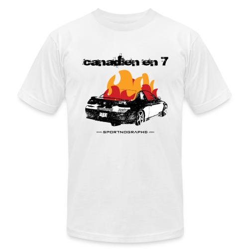 canadienen7v2 - Unisex Jersey T-Shirt by Bella + Canvas