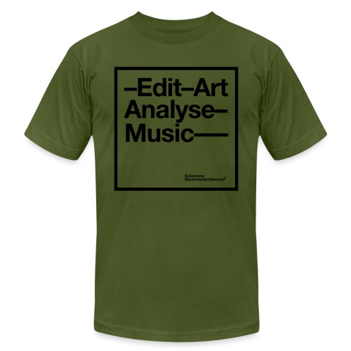 T Shirt EditArt AnalyseMu - Unisex Jersey T-Shirt by Bella + Canvas