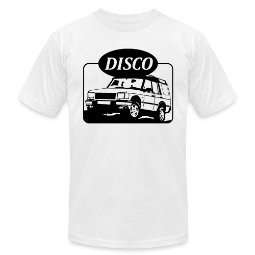 Land Rover Discovery illustration - Unisex Jersey T-Shirt by Bella + Canvas