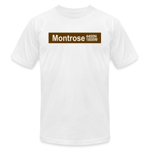 Montrose CTA Brown Line - Men's Jersey T-Shirt