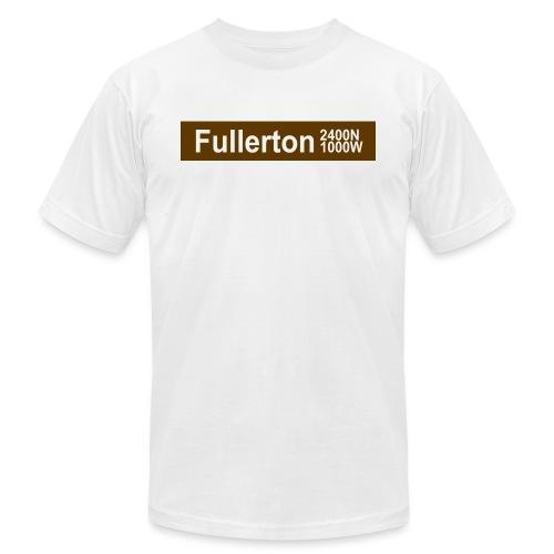 Fullerton CTA Brown Line - Men's Jersey T-Shirt