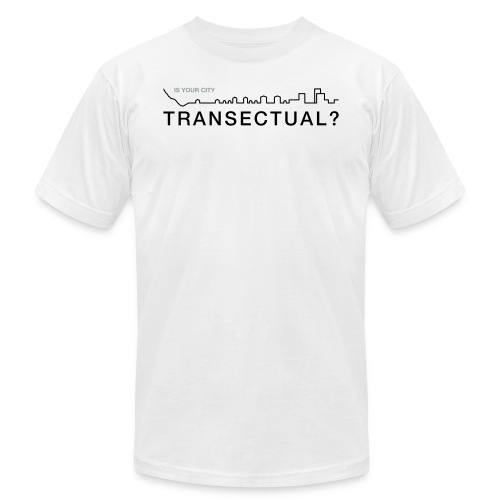 TransectLogo - Unisex Jersey T-Shirt by Bella + Canvas