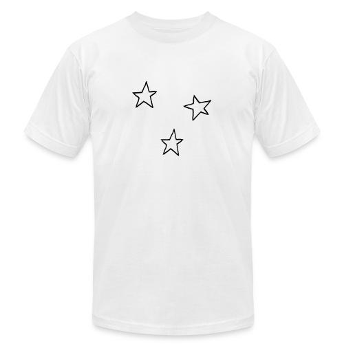 Three Stars - Unisex Jersey T-Shirt by Bella + Canvas