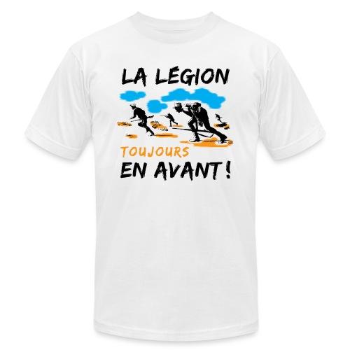 La egion-toujours-en-avan - Unisex Jersey T-Shirt by Bella + Canvas