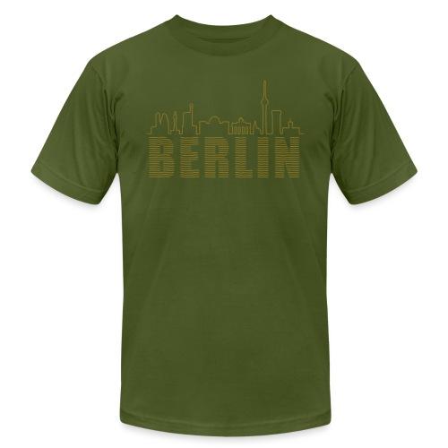 Skyline of Berlin - Unisex Jersey T-Shirt by Bella + Canvas