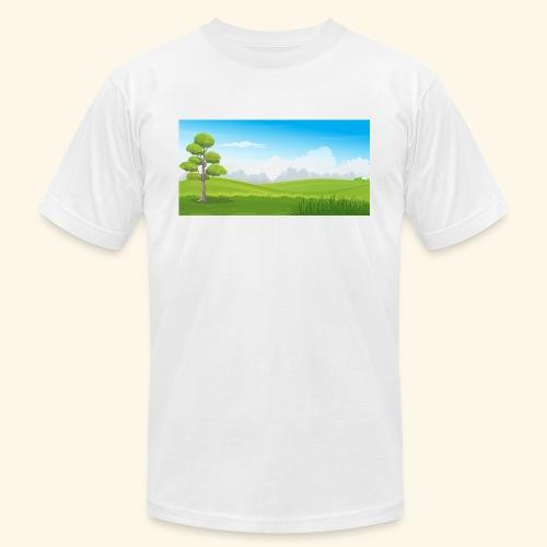 Hills cartoon - Men's Jersey T-Shirt