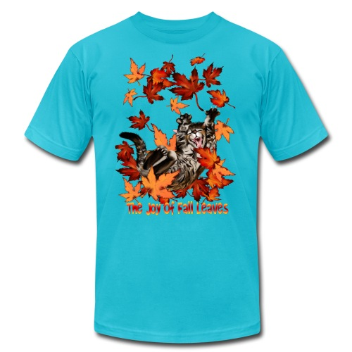 The Joy Of Fall Leaves - Unisex Jersey T-Shirt by Bella + Canvas