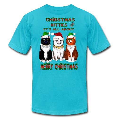 It's All About Merry Christmas - Unisex Jersey T-Shirt by Bella + Canvas