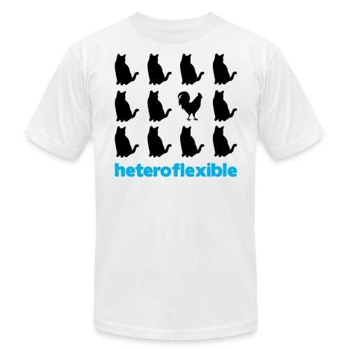 Heteroflexible Male - Unisex Jersey T-Shirt by Bella + Canvas
