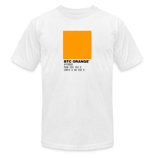 BTC Orange (Bitcoin Tshirt) - Men's Jersey T-Shirt