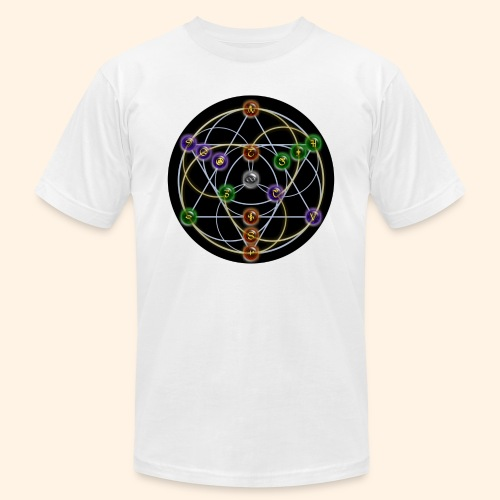 2017 Alchemical Flow - Unisex Jersey T-Shirt by Bella + Canvas
