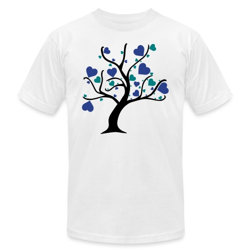 Tree of Hearts - Unisex Jersey T-Shirt by Bella + Canvas
