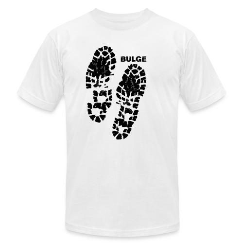 bulgebull_footprint3 - Unisex Jersey T-Shirt by Bella + Canvas