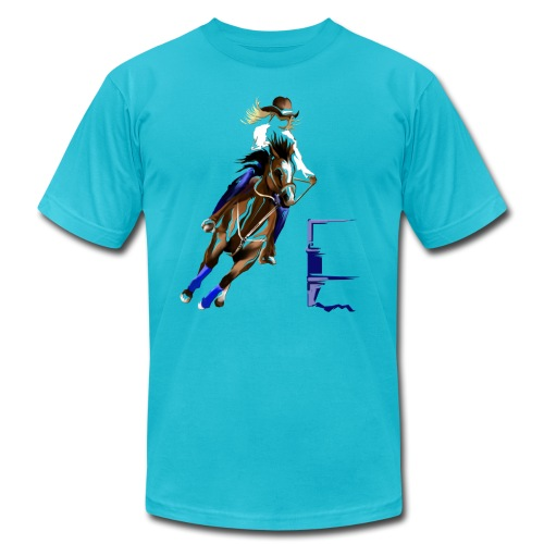 BARREL HORSE - Unisex Jersey T-Shirt by Bella + Canvas