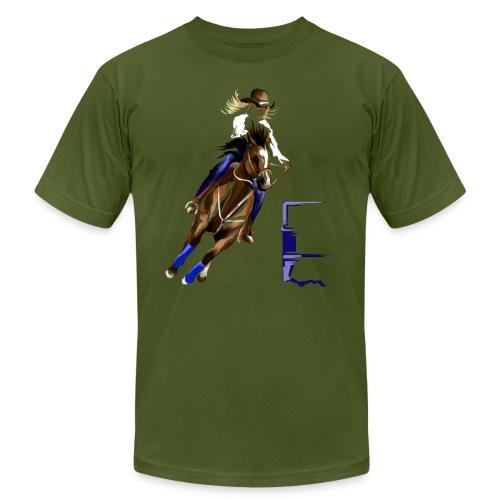 BARREL HORSE - Unisex Jersey T-Shirt by Bella + Canvas