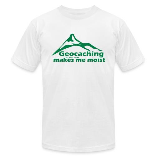 Geocaching in the Rain - Men's Jersey T-Shirt