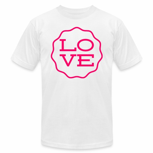 love design - Men's  Jersey T-Shirt