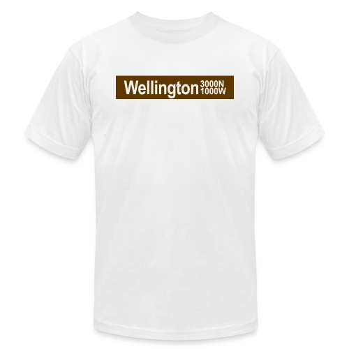 Wellington CTA Brown Line - Men's Jersey T-Shirt