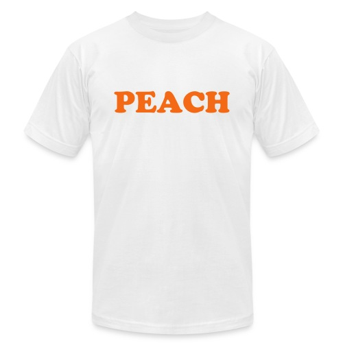Peach Fruitee - Men's  Jersey T-Shirt