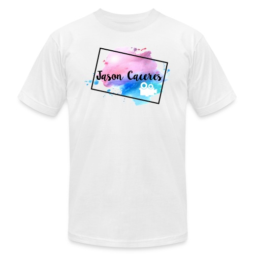 Jason Caceres Opening Intro Logo - Unisex Jersey T-Shirt by Bella + Canvas