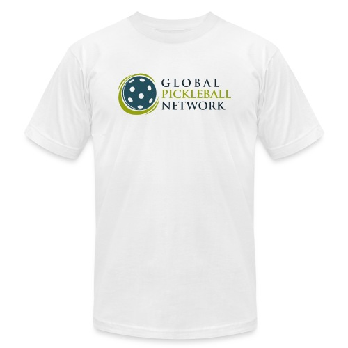 Global Pickleball Network on White - Unisex Jersey T-Shirt by Bella + Canvas
