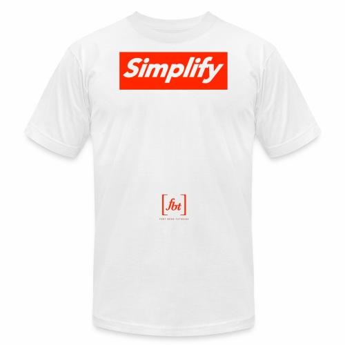 Simplify [fbt] - Unisex Jersey T-Shirt by Bella + Canvas