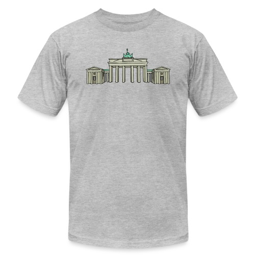 Brandenburg Gate Berlin - Unisex Jersey T-Shirt by Bella + Canvas