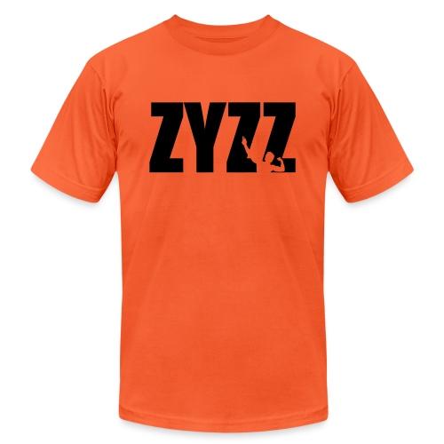 Zyzz text - Unisex Jersey T-Shirt by Bella + Canvas