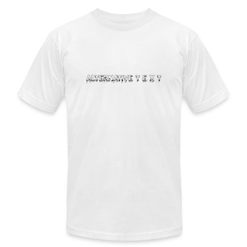 A T - THE CHUBBY DESIGN | Alternative Text co. - Men's  Jersey T-Shirt