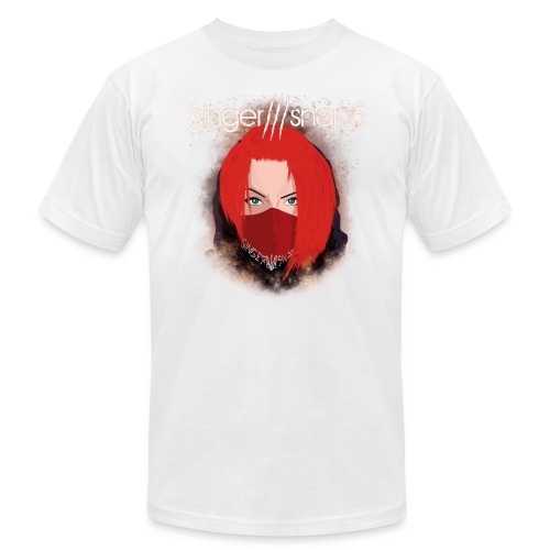 GS5 title + Ginger (new) - Unisex Jersey T-Shirt by Bella + Canvas