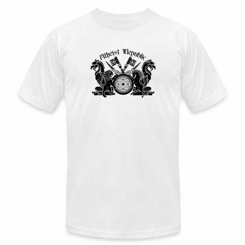 Atheist Republic Logo - Key Emblem - Unisex Jersey T-Shirt by Bella + Canvas