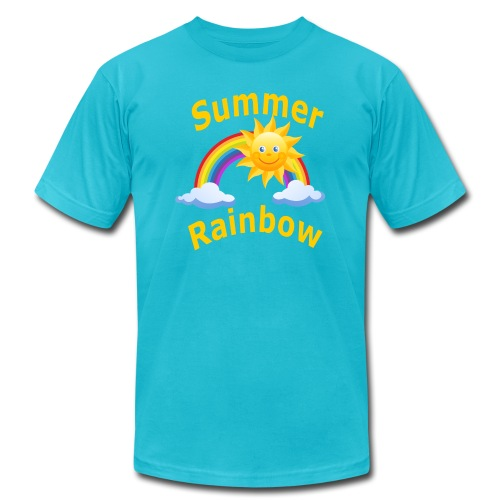 Summer Rainbow - Men's Jersey T-Shirt