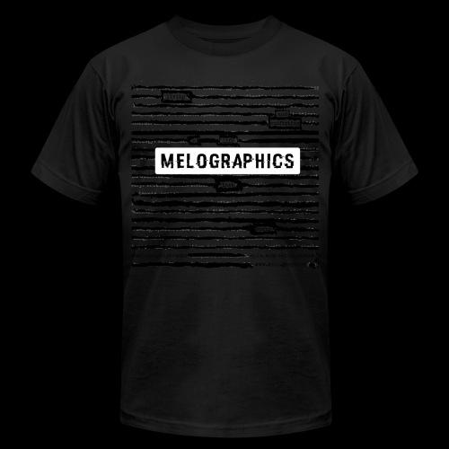 MELOGRAPHICS | Blackout Poem - Unisex Jersey T-Shirt by Bella + Canvas