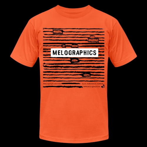 MELOGRAPHICS | Blackout Poem - Unisex Jersey T-Shirt by Bella + Canvas