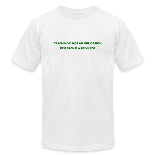 Teaching - Unisex Jersey T-Shirt by Bella + Canvas