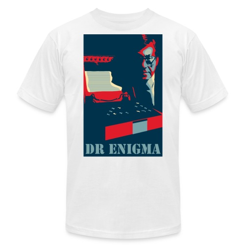 Dr Enigma+Enigma Machine - Unisex Jersey T-Shirt by Bella + Canvas